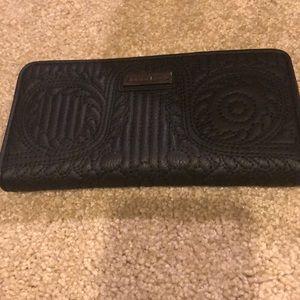 Christian Lacroix black paseo wallet
